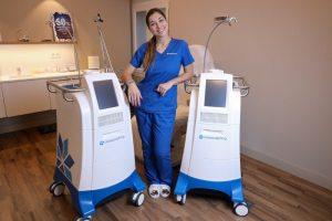 Máquinas tratamiento coolscupting