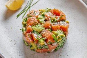Tartar Salmon Recetas Saludables Pescado y Marisco